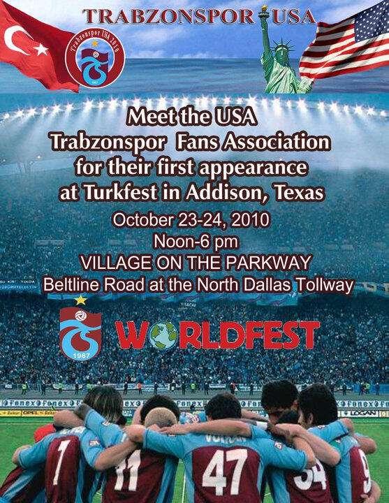 Trabzonspor USA at Turkfest in Addison, Texas