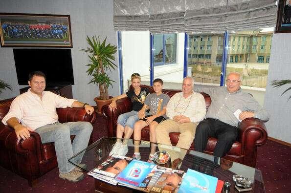 Trabzonspor USA Derneği Başkanı Kaya Boztepe'den Kulübümüze ziyaret