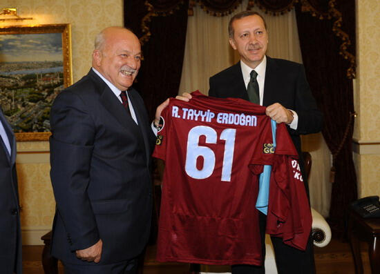 Başbakan Erdoğan ziyaret edildi