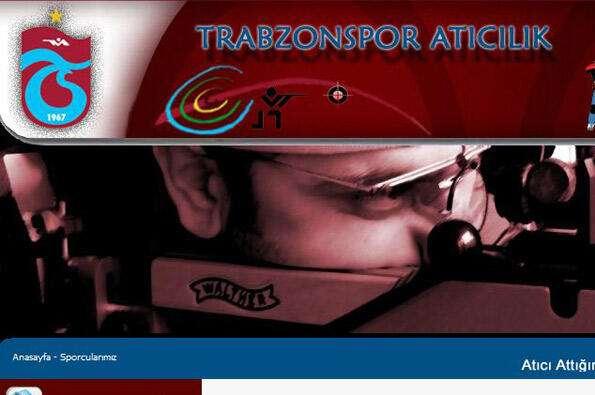 Atıcılık takımımıza yeni web site