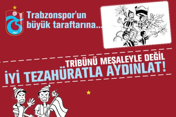 Trabzonspor'un büyük taraftarına!…