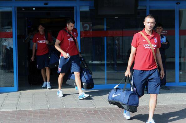 Videoton Trabzon'a geldi