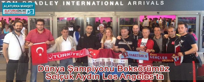 Şampiyon Los Angeles'ta !