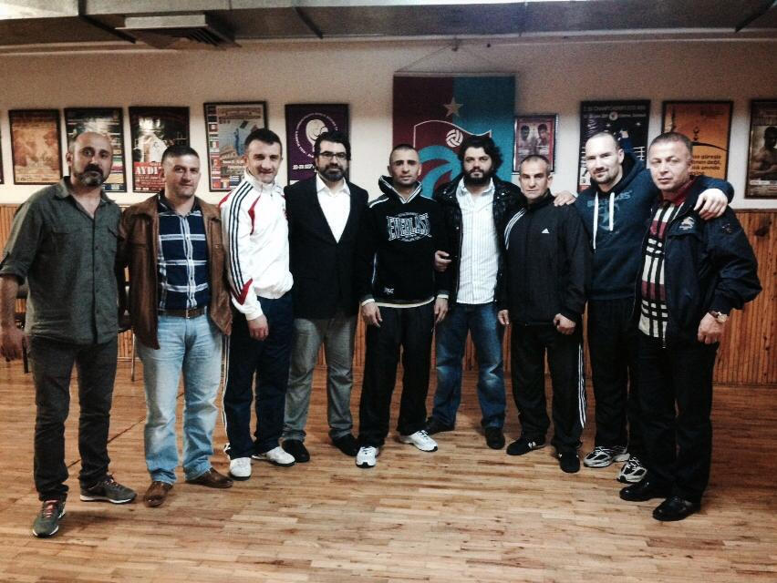 TrabzonsporUSA'den Selçuk Aydın'a Ziyaret